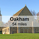Cambridge to Oakham & Uppingham