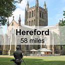 Cardiff to Hereford