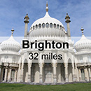 Chichester to Brighton