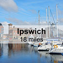 Colchester to Ipswich