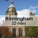 Coventry to Birmingham