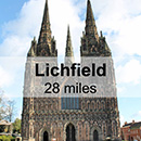 Coventry to Lichfield