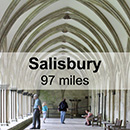 Exeter to Salisbury