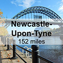 Glasgow to Newcastle-Upon-Tyne