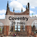 Lichfield to Coventry
