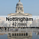 Lichfield to Nottingham