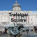 London Mayfair to London Trafalgar Square