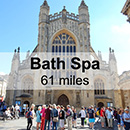 Lyme Regis to Bath Spa