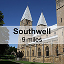 Newark-On-Trent to Southwell