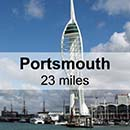 Southampton to Portsmouth