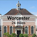 Stratford-Upon-Avon to Worcester