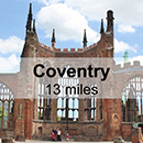 Warwick to Coventry