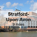 Warwick to Stratford-Upon-Avon