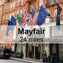 Windsor to London Mayfair
