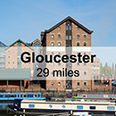Worcester to Gloucester