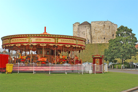 Clifford's Tower Carousel