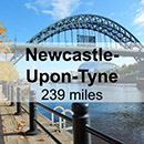 Aberdeen to Newcastle-Upon-Tyne