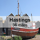 Brighton to Hastings