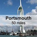 Brighton to Portsmouth