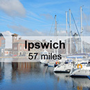 Cambridge to Ipswich