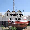 Canterbury to Hastings