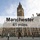 Chester to Manchester