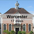 Hereford to Worcester