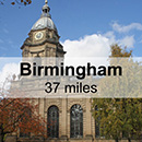 Leamington Spa to Birmingham