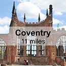Leamington Spa to Coventry