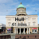 Leeds to Hull