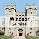 London Mayfair to Windsor