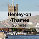 Oxford to Henley-on-Thames