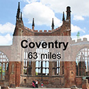 Shrewsbury to Coventry