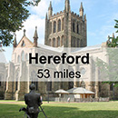 Shrewsbury to Hereford